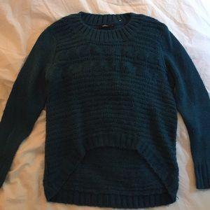 LF Green Knit Sweater